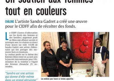 Dossier de presse Sandra Gadret