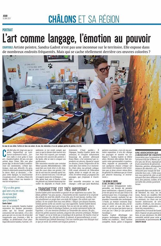 Dossier presse Sandra Gadret